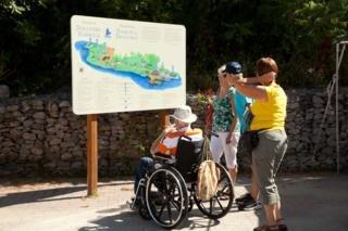 Wheelchair accessibility at Discovery Harbour